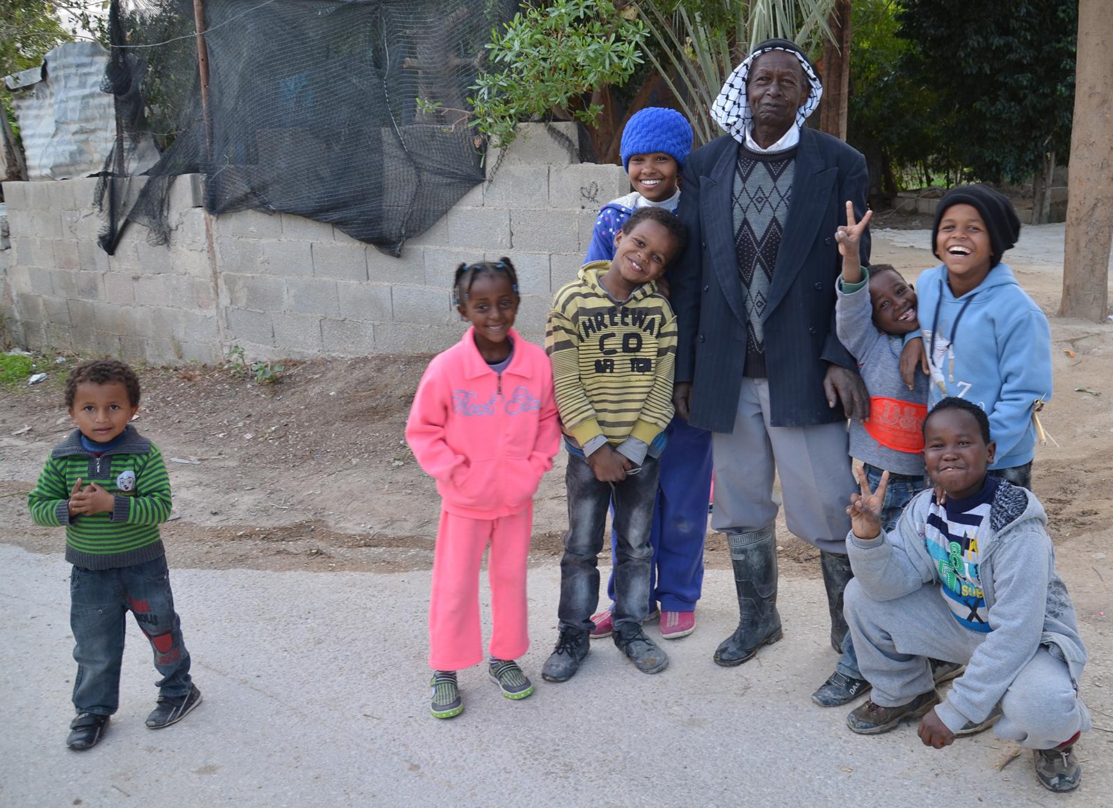 Palestinská rodina, Jericho, Západní Břeh