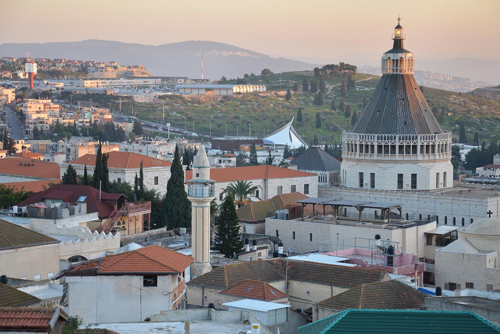 střechy Nazaretu, Izrael