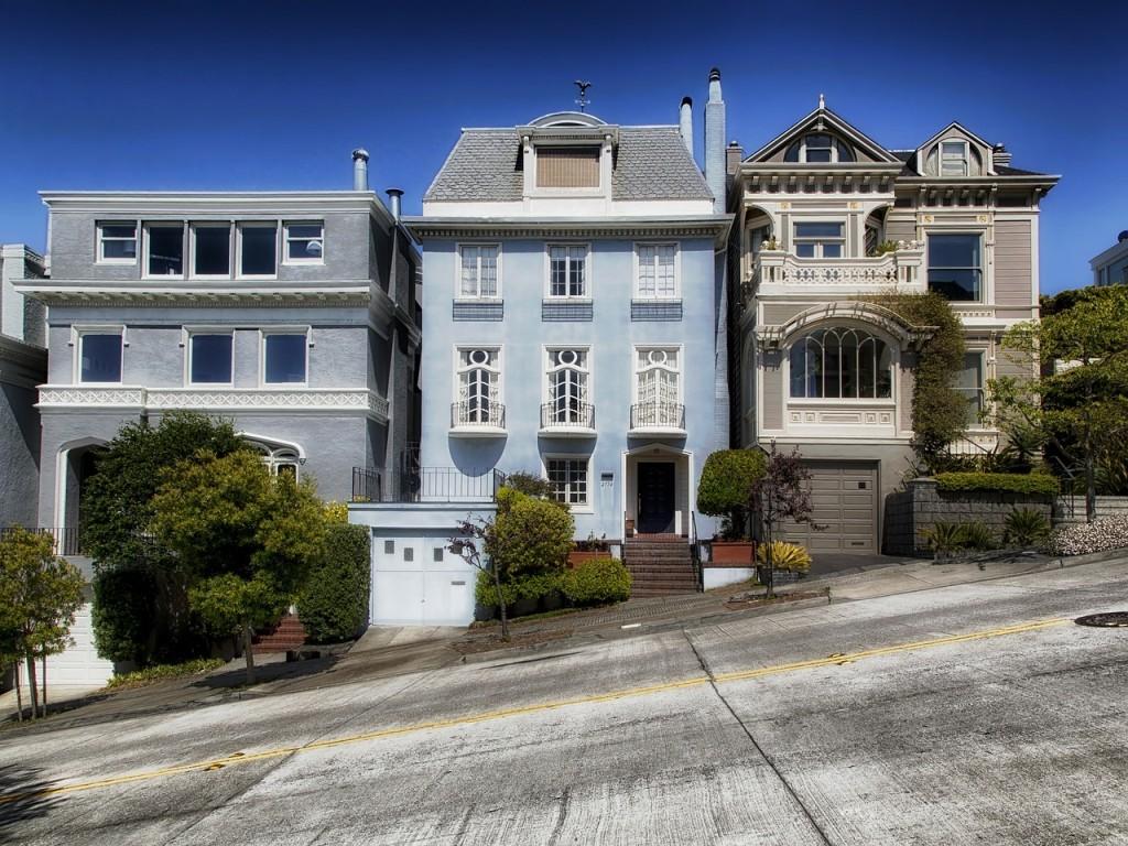 šikmé ulice San Francisca akční letenky