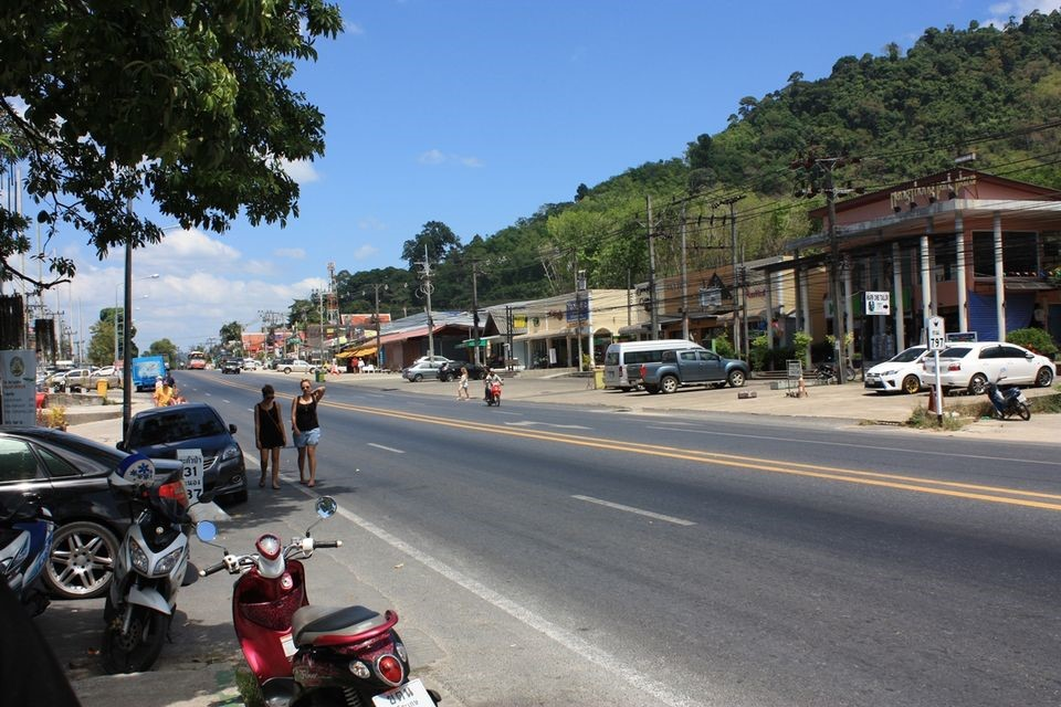 mestečko thao lak thajsko