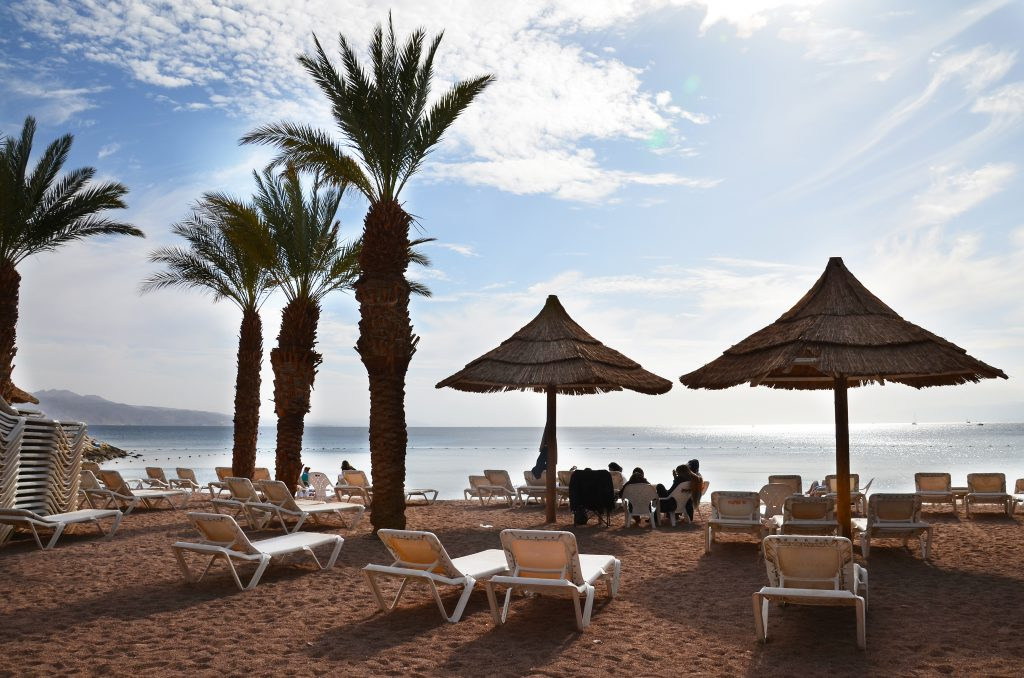 israel-izrael-eilat-palms-beach-deck-chair-couvhette