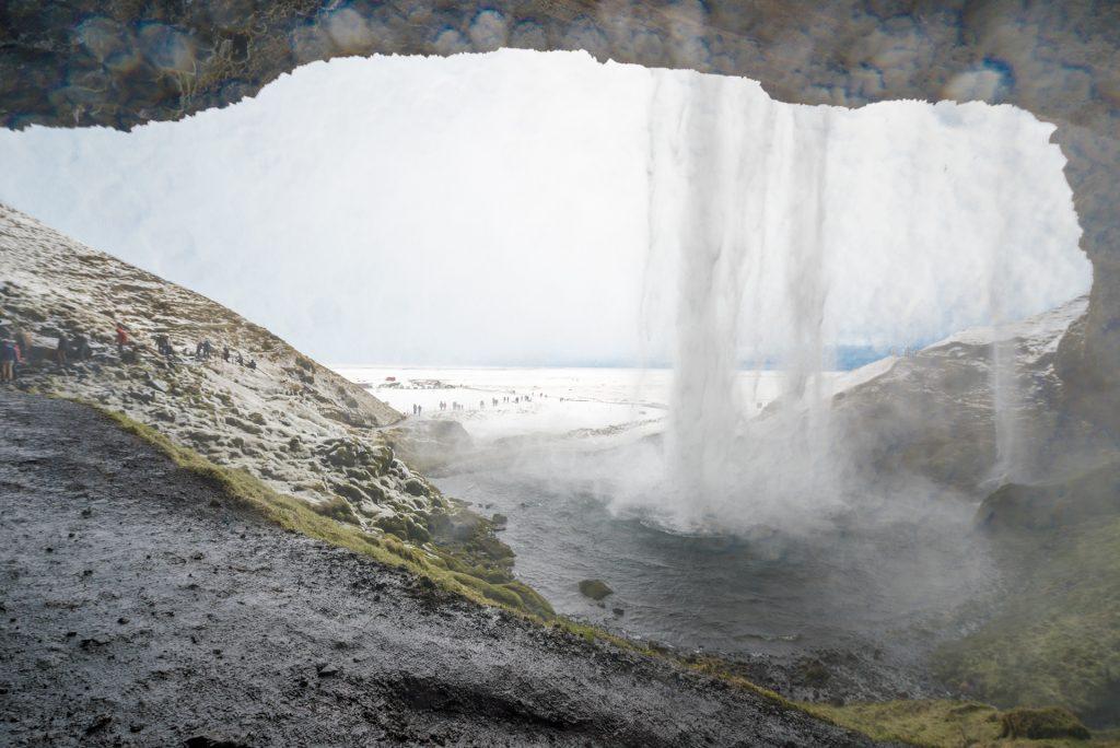 Seljalandfos near Golden Circle Icelandic