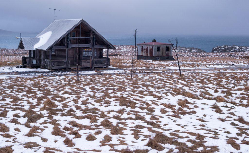 abandoned icelandic village