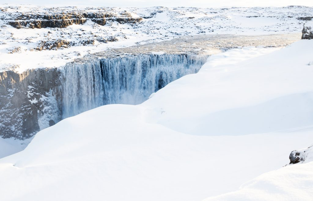 Dettifoss icelandic wonder winter days