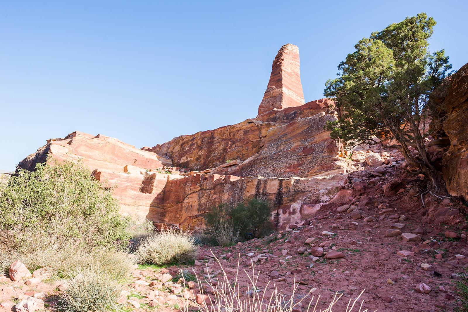 monolit v jordánské Petře