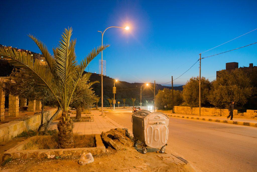 noční Wadi Musa