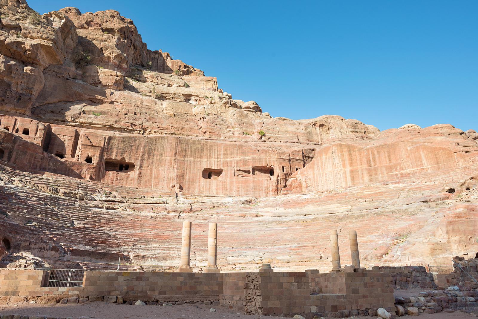 Amfiteátr v jordánské Petře