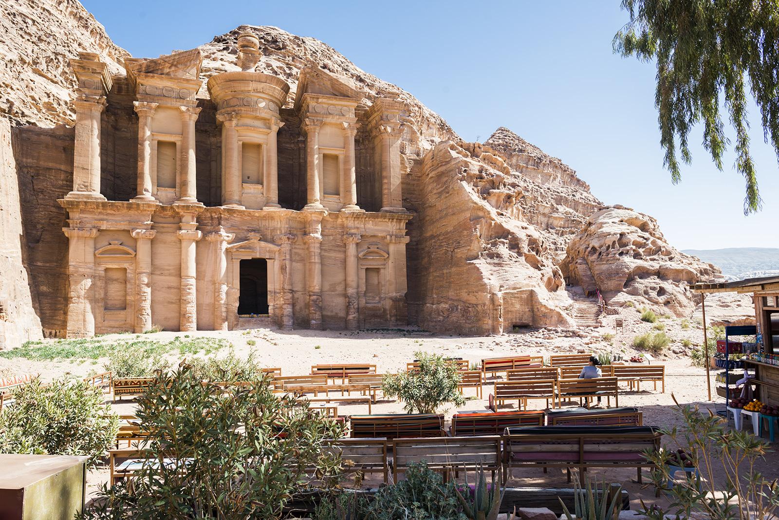 Klášter v Petře, Jordánsko