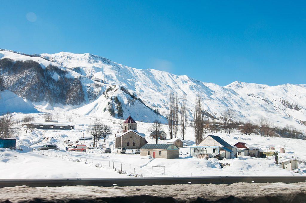 krajina Velkého Kavkazu