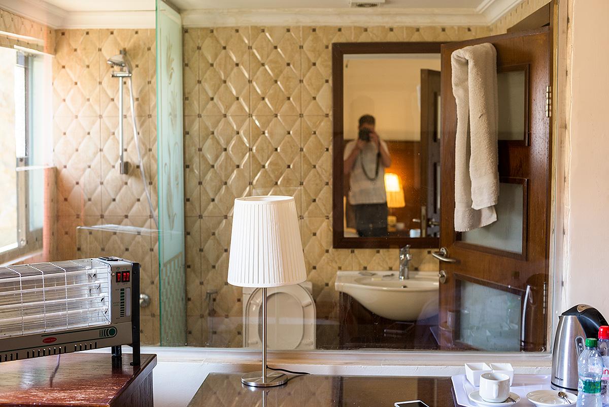 pokoj s výhledem v hotelu Petra nights