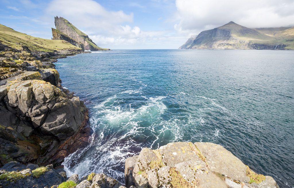 Vagar island Faroe Islands