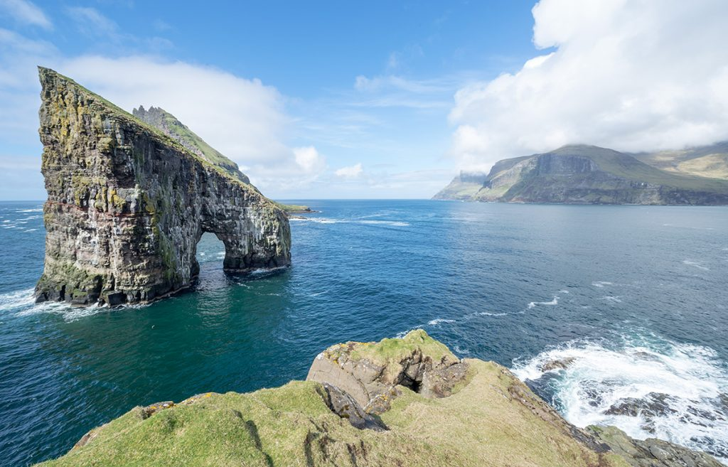 Beautiful view of Vagar island