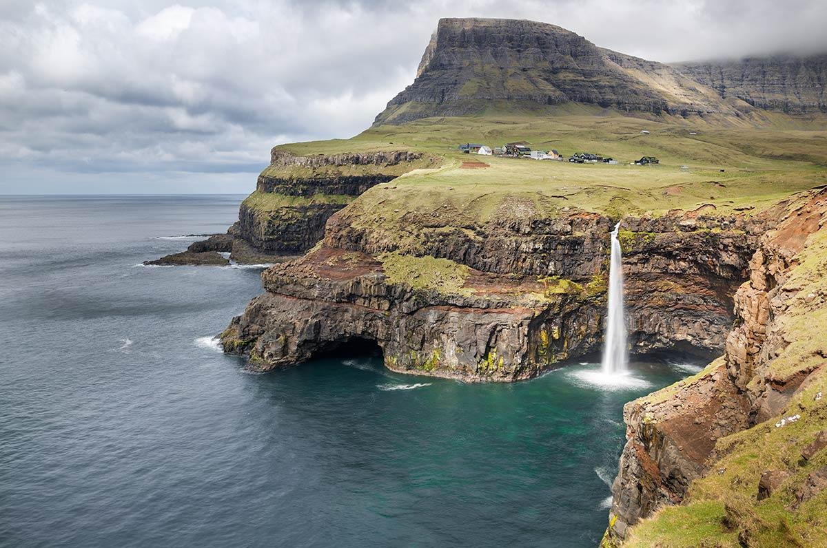 Mulafossur - ikona Faerských ostrovů