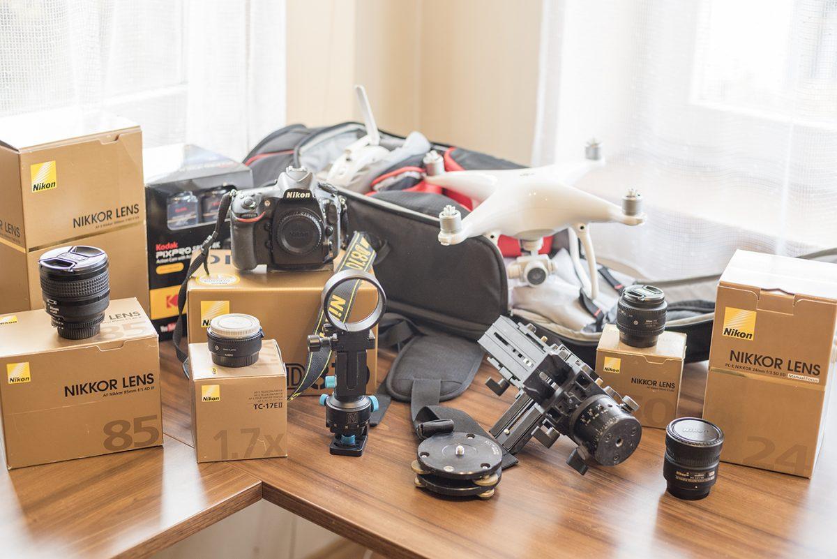 Prodej fotověcí Nikon, drona, dalšího foto a video příslušenství a čtyřkolého miláčka Subaru